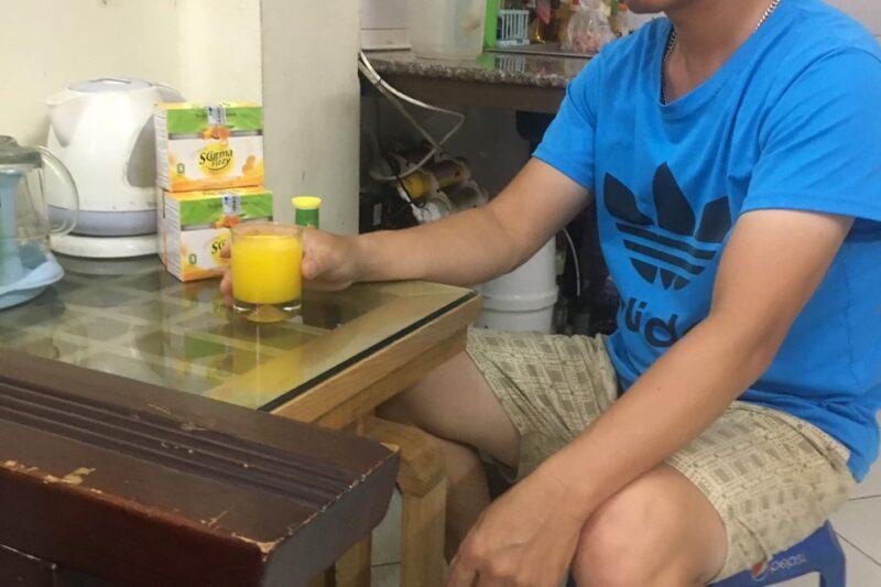 Anh Nguyễn Bá Chuyên từng cảm thấy đau khổ vì bị trào ngược dạ dày
