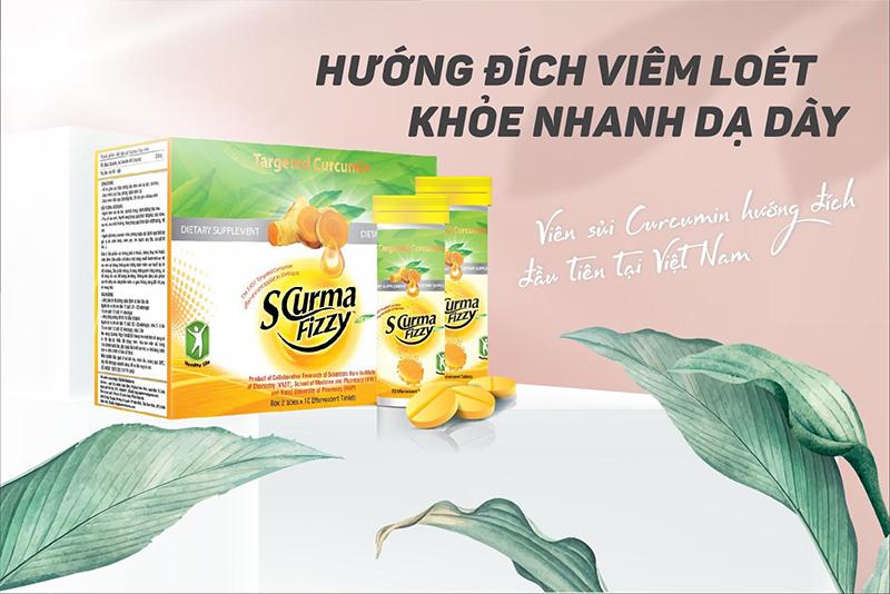 Viên sủi Curcumin hướng đích đầu tiên tại Việt Nam