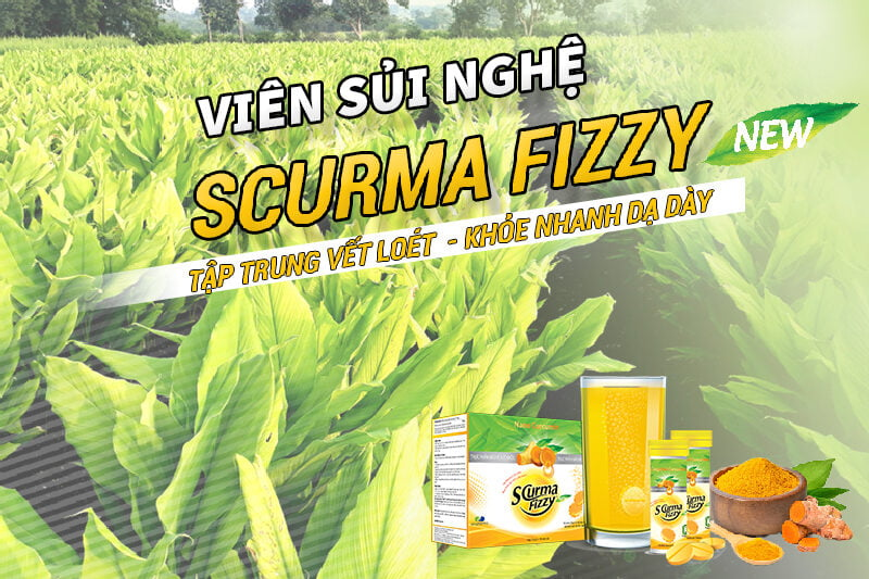 Viên sủi nghệ Scurm Fizzy New