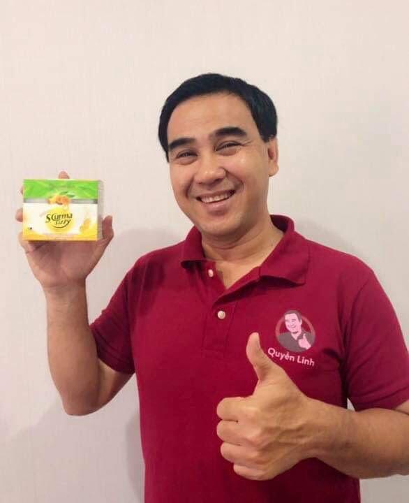 MC Quyền Linh chia sẻ cảm nhận khi sử dụng sản phẩm SCurma Fizzy
