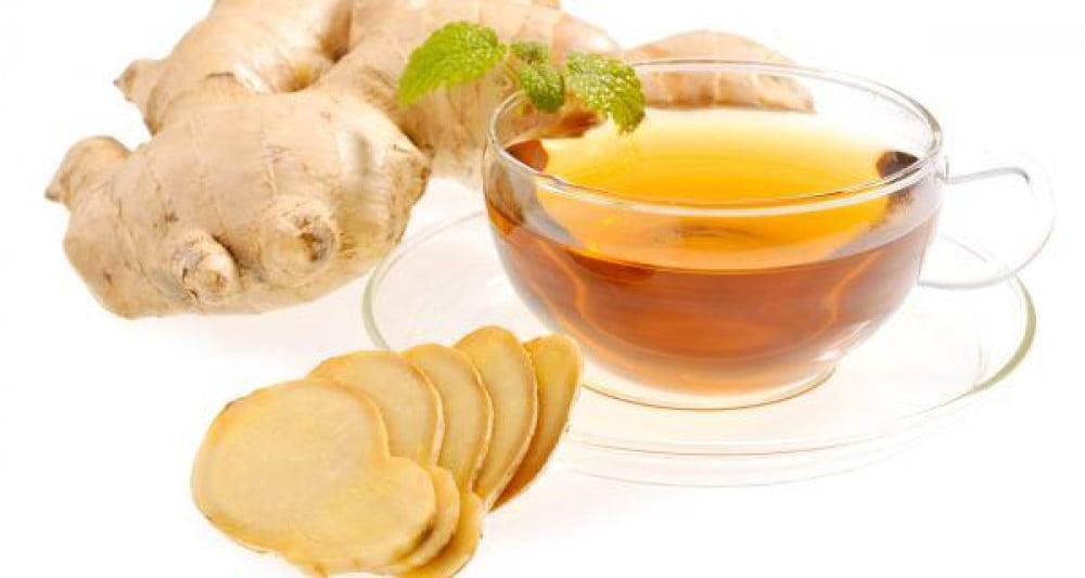 Cách làm giảm nóng rát dạ dày bằng trà gừng mật ong