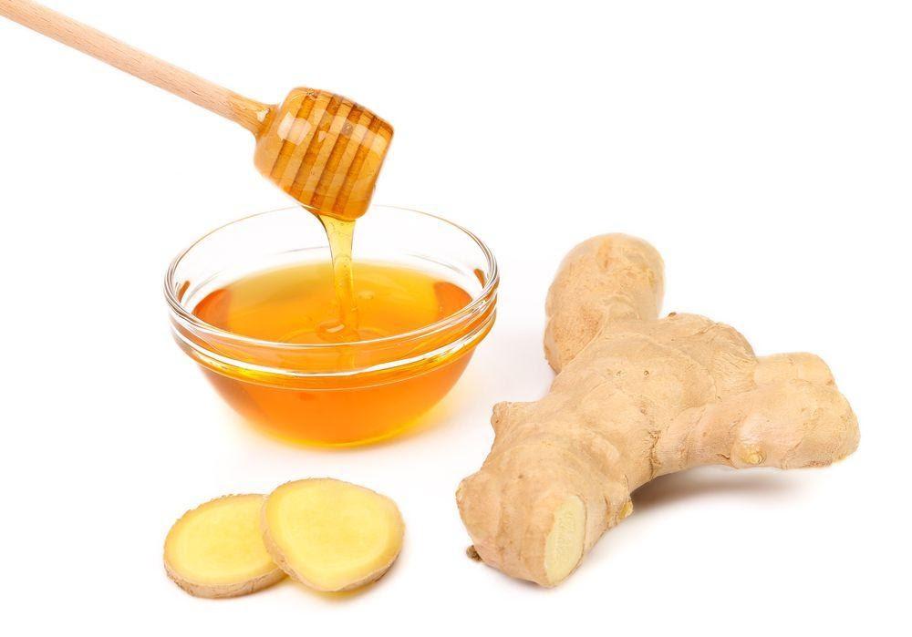 chữa đau dạ dày bằng mật ong cùng gừng