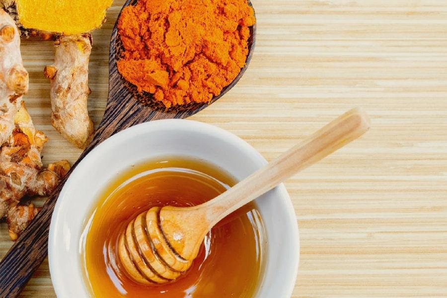 chữa đau dạ dày bằng mật ong cùng nghệ