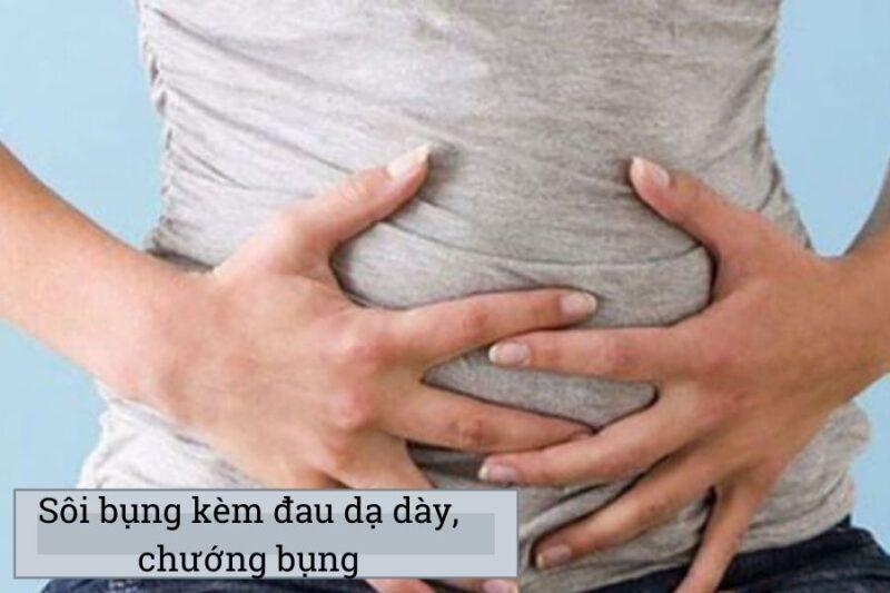 Sôi bụng đau dạ dày 2