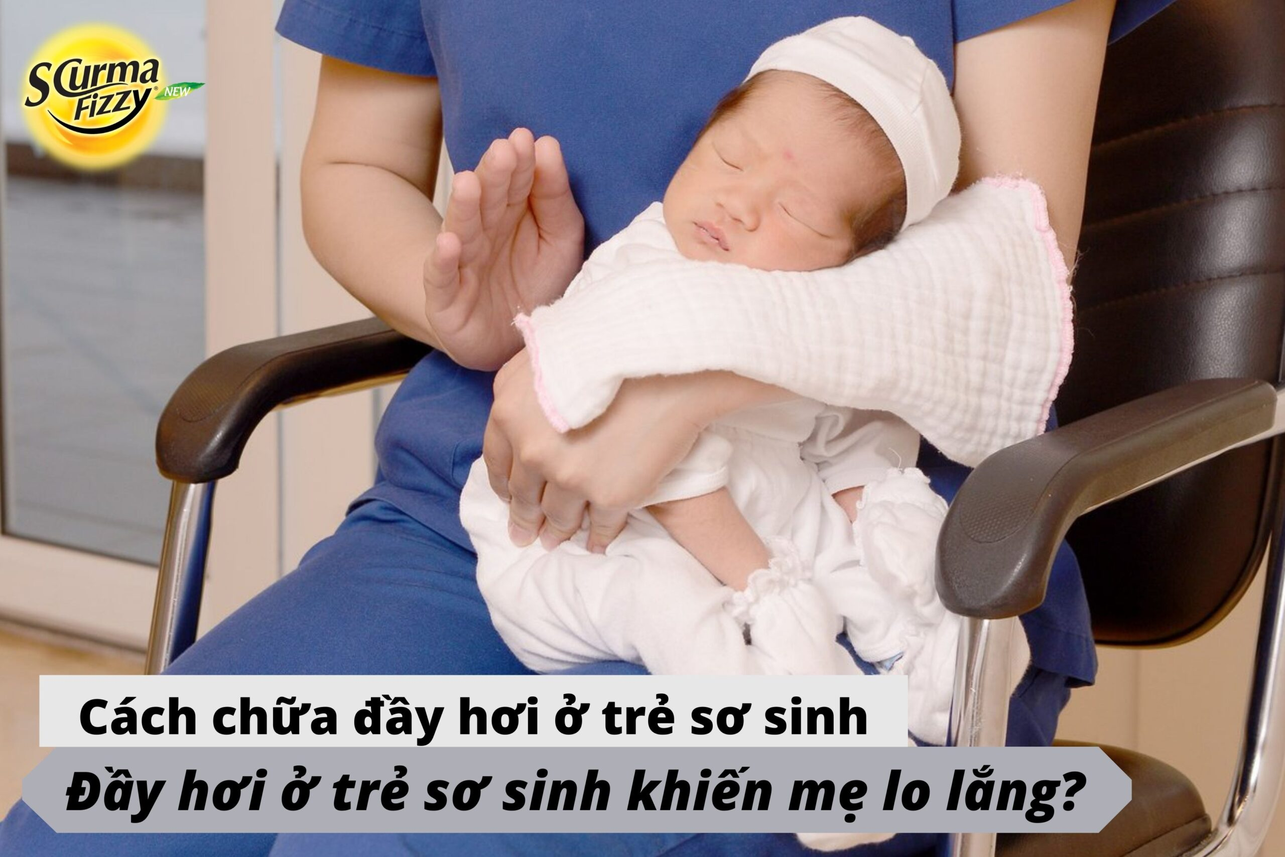 Cách chữa đầy hơi ở trẻ sơ sinh