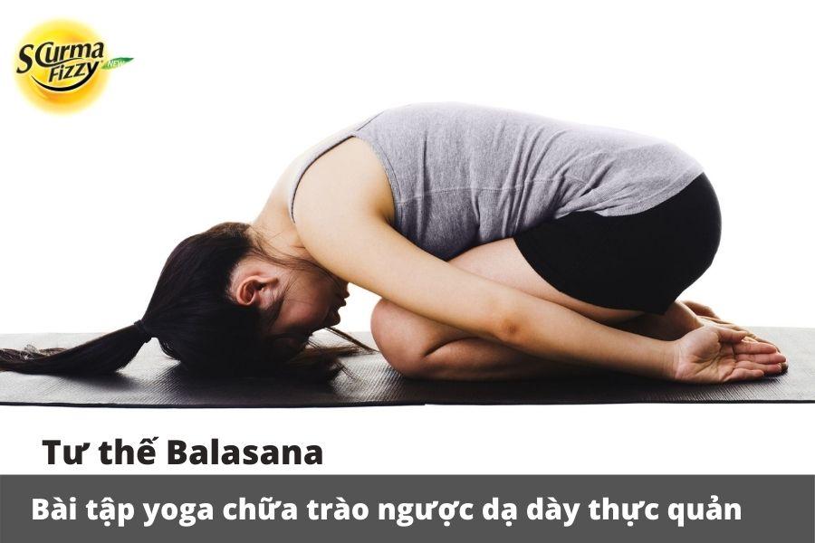 Các bài tập yoga chữa trào ngược dạ dày thực quản hiệu quả nhất