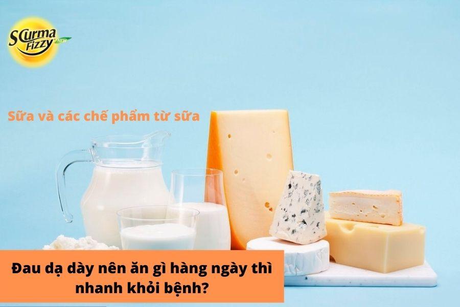 sữa và các chế phẩm