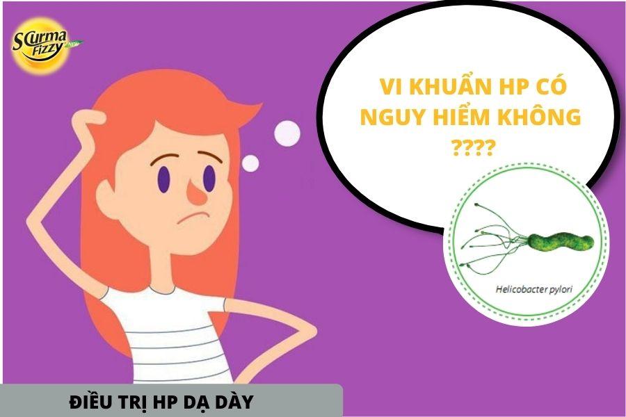 vi khuẩn H.pylori có nguy hiểm khi điều trị hp dạ dày