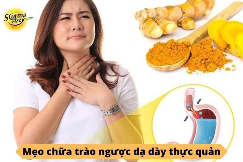 mẹo chữa trào ngược dạ dày 1