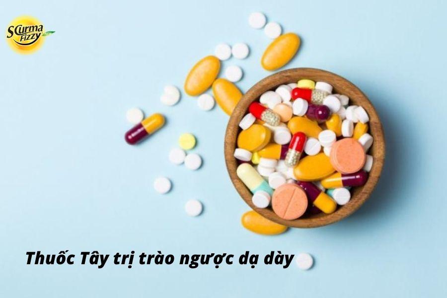 Thuốc Tây trị trào ngược dạ dày