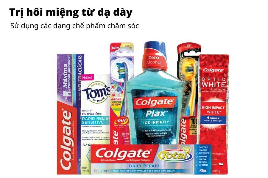 Các chế phẩm chăm sóc răng miệng hiệu quả