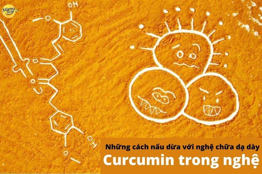 Curcumin trong nghệ hiệu quả trong điều trị đau bao tử