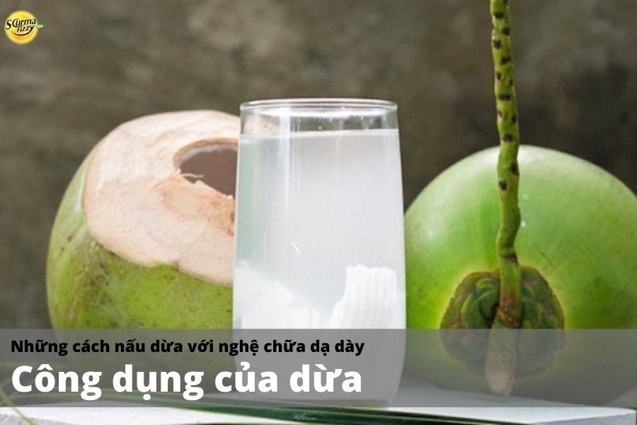 Tác dụng của dừa