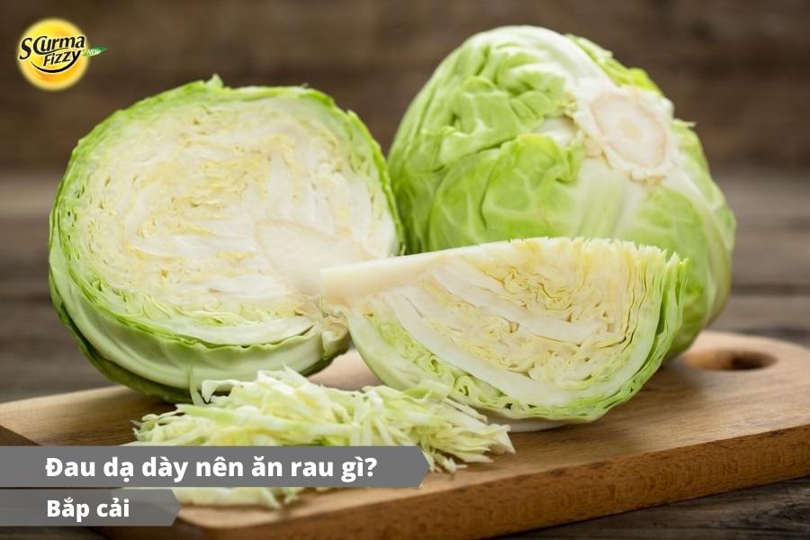 Bắp cải có lợi cho tình trạng bệnh đau dạ dày