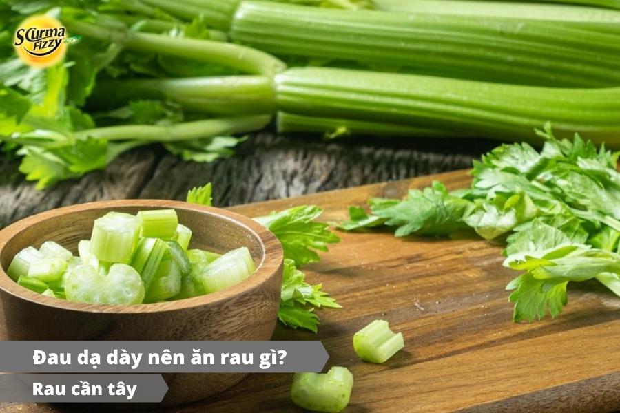 Bổ sung cần tây giúp cải thiện các cơn đau dạ dày