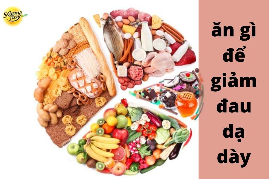 Ăn gì để giảm đau dạ dày