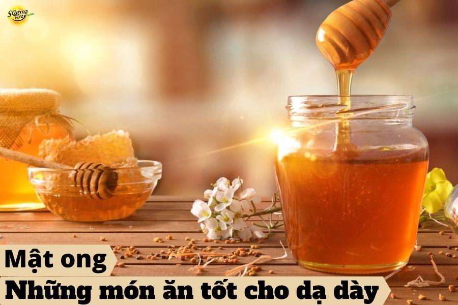 mật ong chữa bệnh đau dạ dày