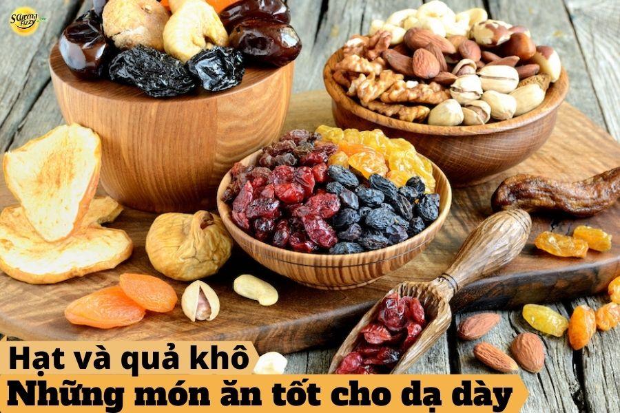 những món ăn tốt cho dạ dày- ngũ cốc và hạt