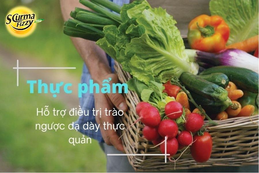 Thực phẩm hỗ trợ điều trị