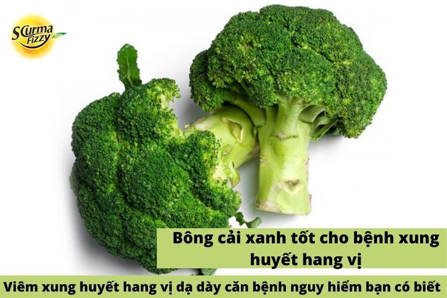 Bông cải xanh tốt cho dạ dày