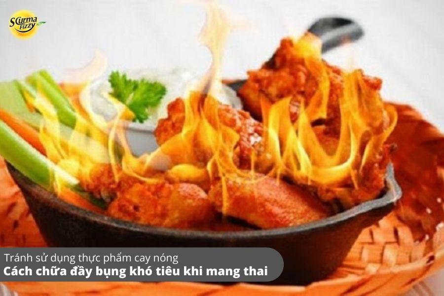 Thực phẩm cay nóng có thể làm trầm trọng thêm các triệu chứng