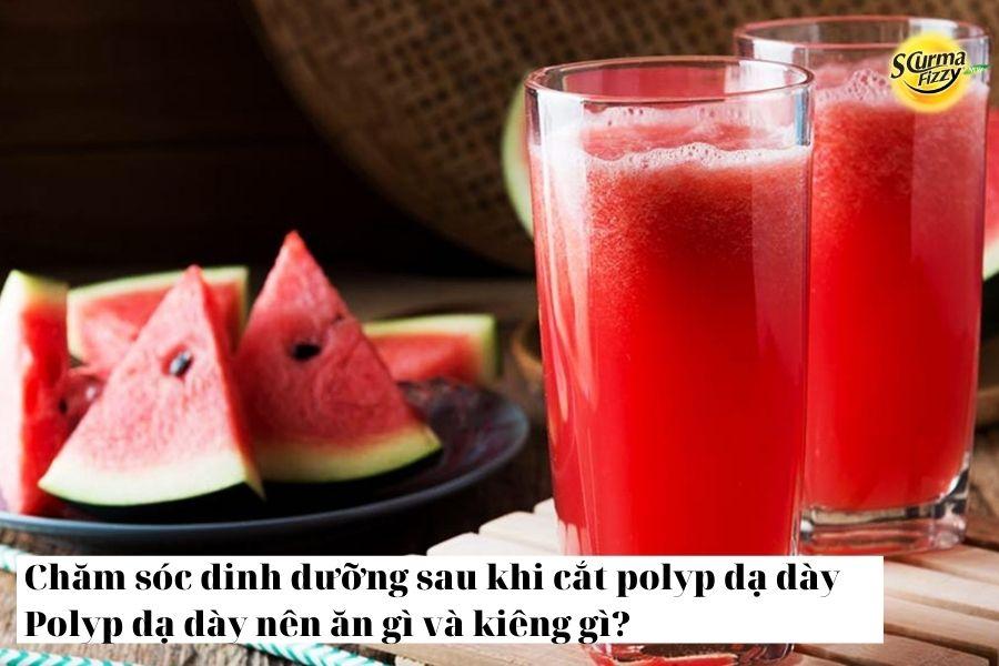 Polyp dạ dày nên ăn gì và kiêng gì 6