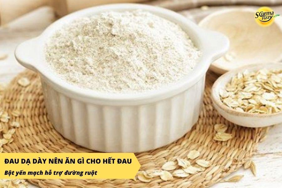 Người bị đau dạ dày nên sử dụng bột yến mạch thường xuyên