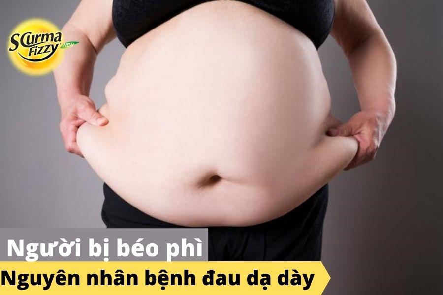 Nguyên nhân đau dạ dày do béo phì